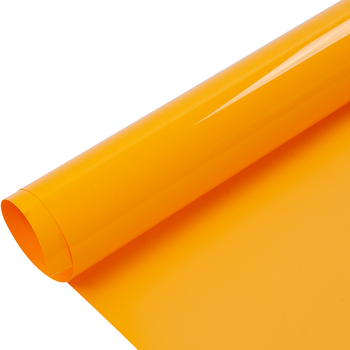 0.5x25m Yellow PVC Heat Transfer Vinyl Film heat press T-shirt vinyl Film cutting plotter heat transfer vinyl one roll