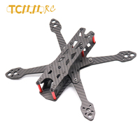 Tcmmrc 5 Inch FPV Rahmen Mars IV drone Kit Wielbasis 220 Mm 4 Mm Arm Carbon Fiber voor Racing Drone quadcopter