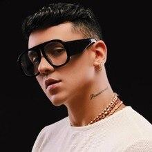 Fashion Luxury Round Sunglasses Men Women Brand Design Overs