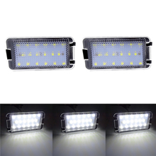 1 Pair Tail Number License Plate Lights Lamps Error Free For Seat Ibiza 6L ab for Seat Altea CORDOBA/LEON/Toledo III 2004-2009 mzorange 2pcs set with canbus error free white 18smd led car number license plate lights for seat altea exeo st ibiza leon
