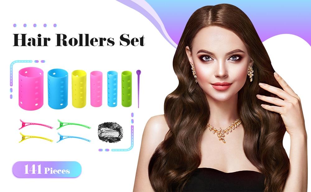 cabelo magnético modelador de cabelo rolos onda
