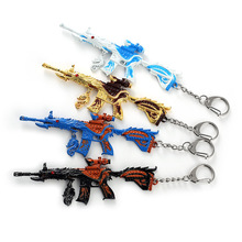 Five-claw golden dragon pendant Vicney Popular PUBG Game Player Key Chain Jedi survival Gun For Men Cool Ring Of Boyfriend T