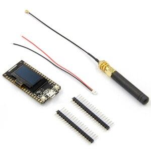 Image 5 - LILYGO®TTGO LORA V1.3 868/915Mhz ESP32 çip SX1276 modülü 0.96 inç OLED ekran WIFI ve Bluetooth geliştirme kurulu