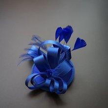 Женская Классическая шляпка в западном стиле Маленькая для невесты