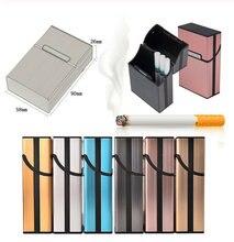 Мужской Стандартный чехол для сигарет из металлического сплава