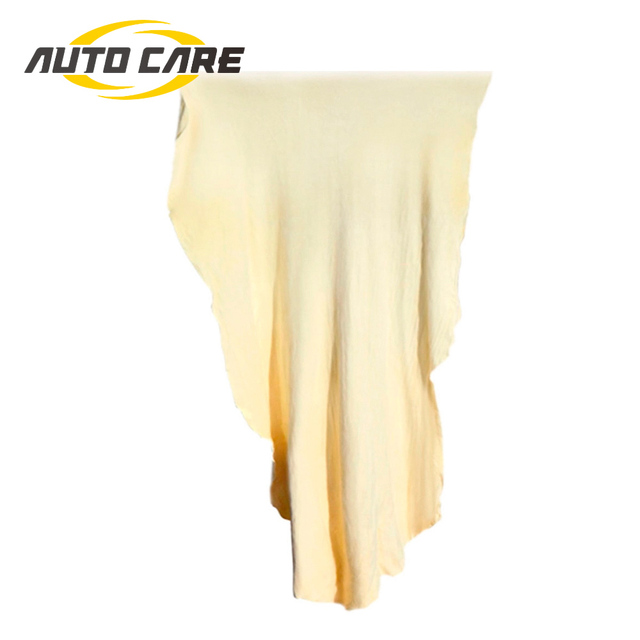 Natuurlijke Zeem Zeem Car Cleaning Handdoeken Drogen Wassen Doek Ca. 30X50 Cm En 45X75 Cm voor Keuze Gratis Vorm