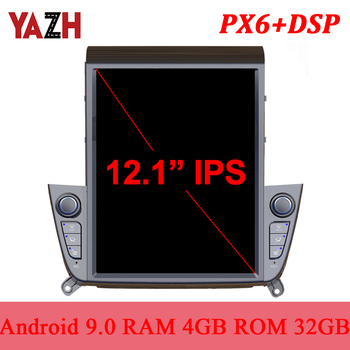 YAZH For Hyundai IX35 2018 2019 Car Stereo Multimedia With Android 9.0 PX6 4+32GB Built in Carplay Android Auto DSP HDMI output