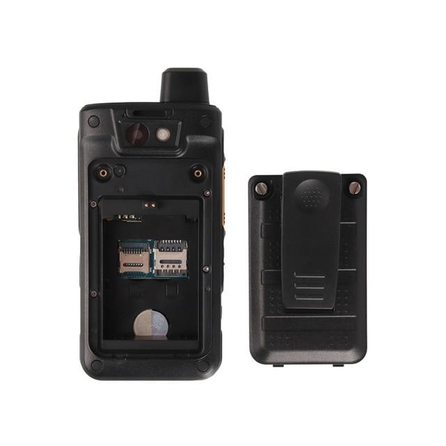 "UNIWA B8000 IP68 Waterproof 2.4"" Mobile Phone POC Walkie Talkie MT6739 Cellphone Android 8.1 4G LTE Quad Core 1G+8G 4000mAh NFC"