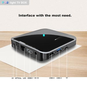Image 4 - A95XF3 Air Rgb Licht Tv Box Android 9.0 4Gb 64Gb Amlogic S905X3 Doos 8K Hd 2.4/5G Wifi Media Server Android Tv Box
