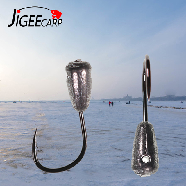 Best 10PCS Winter Ice fish hooks show