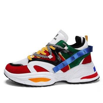 2020/718 Men Casual Running Shoes Spring Summer Sneaker Fashion Man Shoes