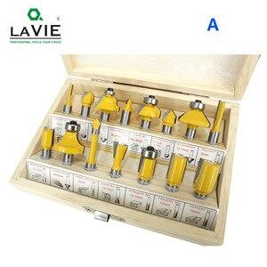 Image 2 - LAVIE jeu de mèches de toupie, en carbure de tungstène, pour le bois, 8mm, 15 pièces, MC02006