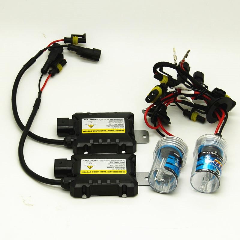 DC 12V Xenon H1 Hid Kit 55W H7 H3 Xenon H7 H8 H10 H11 H27 HB3 HB4 9005 9006 Car Light Source Xenon