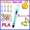 Оригинальная 3D Ручка HooMore, пла-нить, Печатающая ручка, креативная игрушка, подарок на день рождения для детей, дизайн, ручка для рисования «сд...