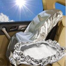 108x80 centímetros assento do Bebê Assento de Carro Protetor de Isolamento da Poeira Cobrir As Crianças De Alumínio Filme Protetor Sun Sombra Sombrinha UV protetor