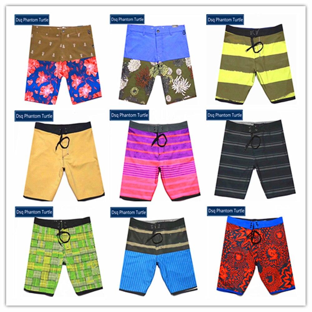 New 2020 Classic Brand Dsq Phantom Turtle Beach Board Shorts Mens Sexy Gay Polyester Spandex Elastic Boardshorts 100% Quick Dry