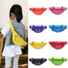 2019 New Kids Girls Waist Fanny Pack Belt Bag Pouch Hip Bum Bag Travel Sport Small Purse 6 Colors(China)
