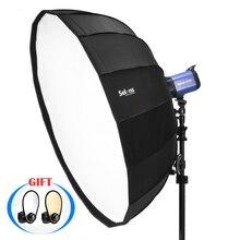 Параболический Зонт Selens 65 см с отражателем, софтбокс для салонов красоты, лампа для фотовспышки, сумка для переноски