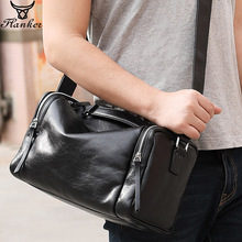 Flanker genuine leather men fashion shoulder handbag flap soft messenger bag high quality male crossbody bag travel man tote bag men fashion business handbag dual use handbag shoulder bag tote flap bag chest bag