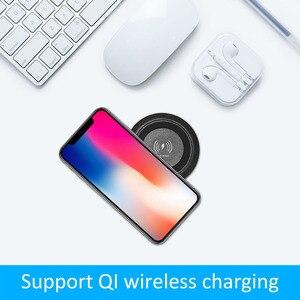 Image 5 - Universal Wireless Charger แบบไร้สาย Qi ชาร์จเฟอร์นิเจอร์เดสก์ท็อปฝังตาราง Pad สำหรับ IPhone Samsung Huawei Mate 20RS P30P