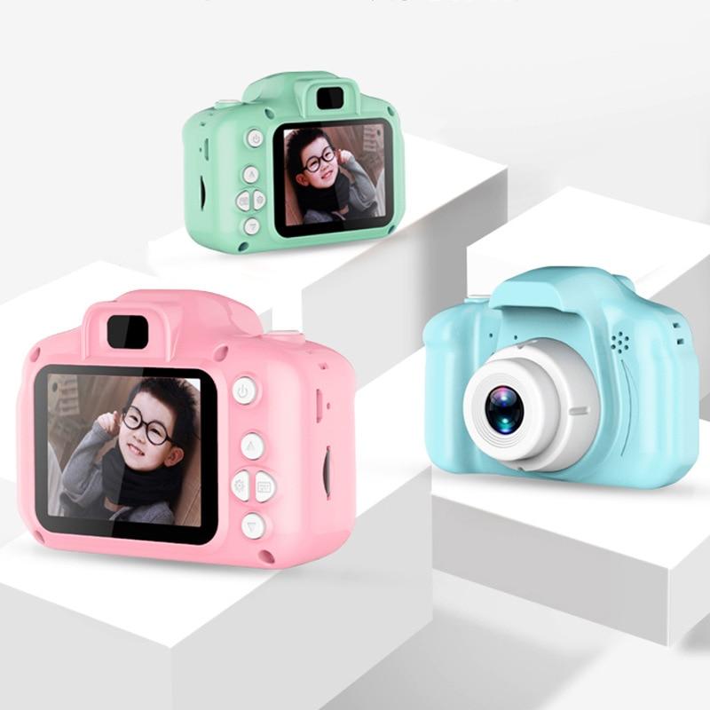 Children's Camera Waterproof 1080P HD Screen Camera Video Toy 8 Million Pixel Kids Cute Cartoon Camera Outdoor Photography Kids