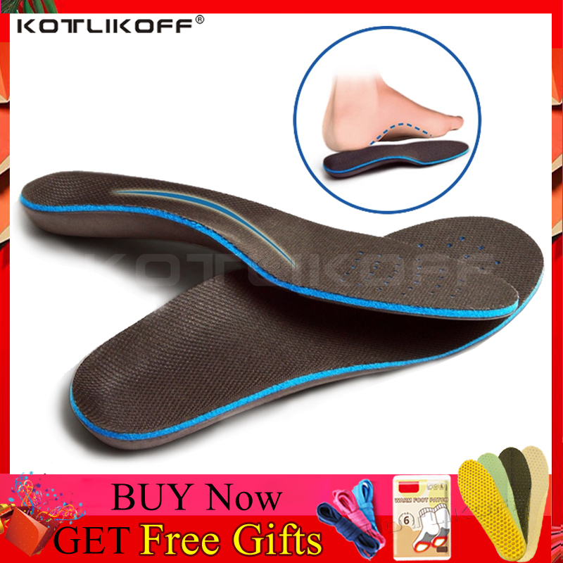Best Material Premium EVA Orthotic Insole Arch Support Insole For Flat Feet Orthotic Memory Form Insole For Orthopedic Shoes