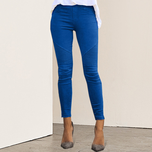 DIHOPE 2020 New Women Jeans Legging Blue