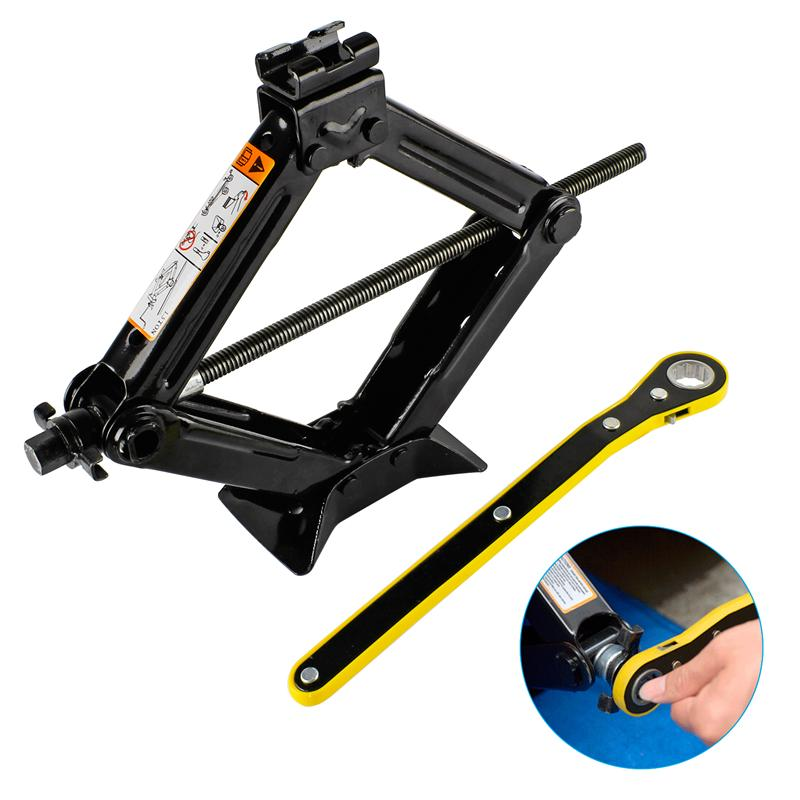 Forever Speed 1.5T 2T Car Jack Scissor General Rocker Car Truck Jack Auto Lifting
