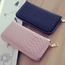 Crocodile pattern Wallets Women Luxury Brand High Quality Gi