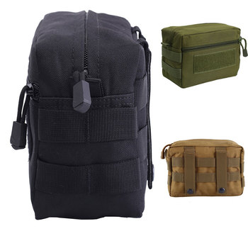 Tactical Molle Pouch 1000D Outdoor Military Hunting Belt Pouch Waist Pack EDC Kit Bag Durable Medical Bag Utility Accessory Bag outdoor military molle admin pouch tactical pouch multi medical kit bag utility pouch for camping walking hunting