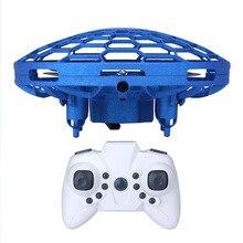 Mini Avión de control remoto de inducción de colisión inteligente de cuatro ejes UAV gesto de detección de niños juguete eléctrico interactivo