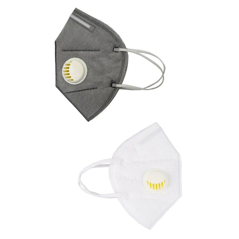 5Pcs Electrostatic Filter Cotton Mouth Mask PM2.5 Dustproof Grade Particles Anti-Industrial Dust Comfort Mask