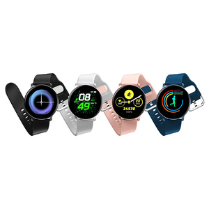 X9 Smart Sports Watch Women Men Unisex Heart Rate Monitor Blood Pressure For Android IOS Womens Bracelet Silicone Wristwatches(China)