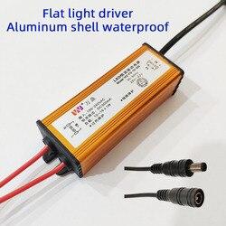 Fonte de alimentação led driver ultra fino painel plano luz transformador retificador constante atual à prova dwaterproof água 8w 12 18 28 38 48w