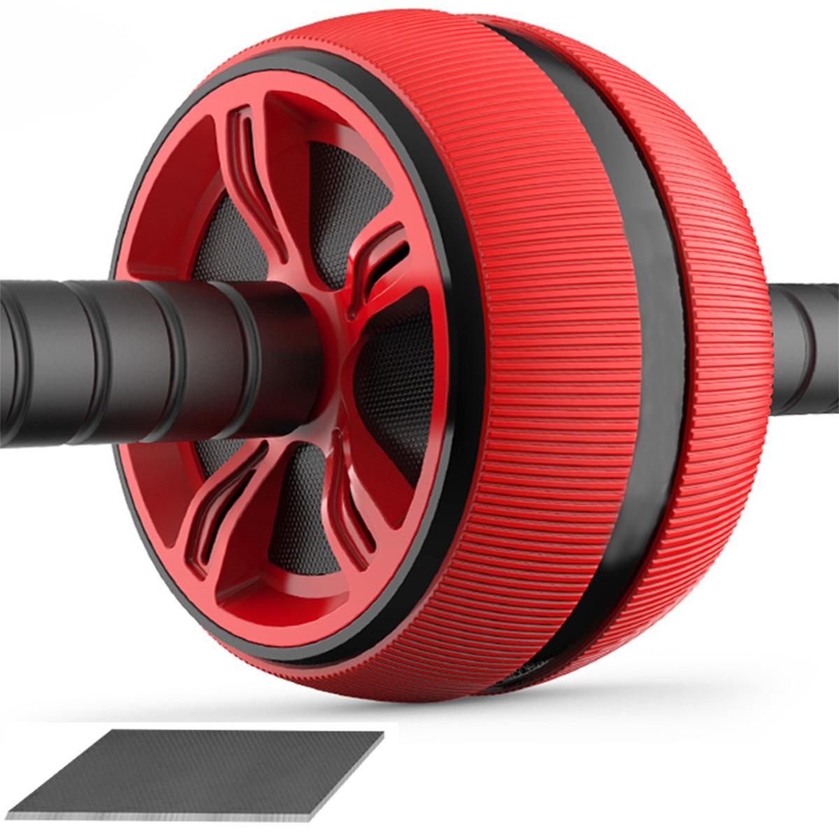 ABS Bauch Roller Übung Rad Fitness Ausrüstung Stumm Roller Für Arme Zurück Bauch Core Trainer Körper Form Ausbildung Liefert