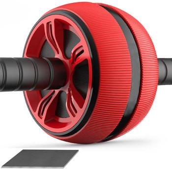 ABS rolka do brzucha kółko do ćwiczeń sprzęt do ćwiczeń wyciszenie rolki do ramion powrót brzuch rdzeń trener kształt ciała materiały szkoleniowe tanie i dobre opinie Ab roller coaster Mięśni relex aparatura Exercise Wheel Single-kołowe