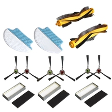 16-Pack Main Brush Filter Mopping Cloth Pads for Ecovacs Deebot M80 M80 Pro Dt85 Dt83 Dm81 Dm85 Vacuum Cleaner Spare Parts