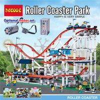 18003 CREATOR Roller Coaster Building Blocks Bricks Compatible lepinglys 10261 Educational Toys for Children birthday Gift 1125