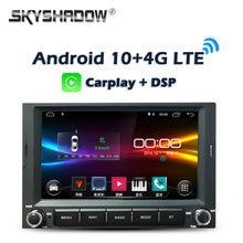 Carplay-reproductor de DVD para coche DSP, Android 10,0, 2GB + 32GB 64GB, GPS, WIFI, Bluetooth, Radio para PEUGEOT 3008 5008, Partner, CITROEN Berlingo