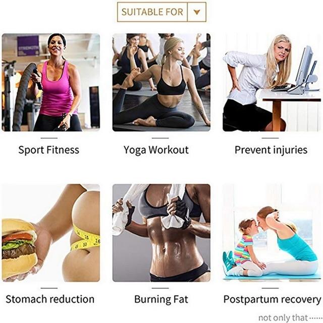 Women High Waist Thigh Trimmer Neoprene Sweat Shapewear Slimming Leg Body Shapers Adjustable Waist Trainer Slimming Belt Fitness 2