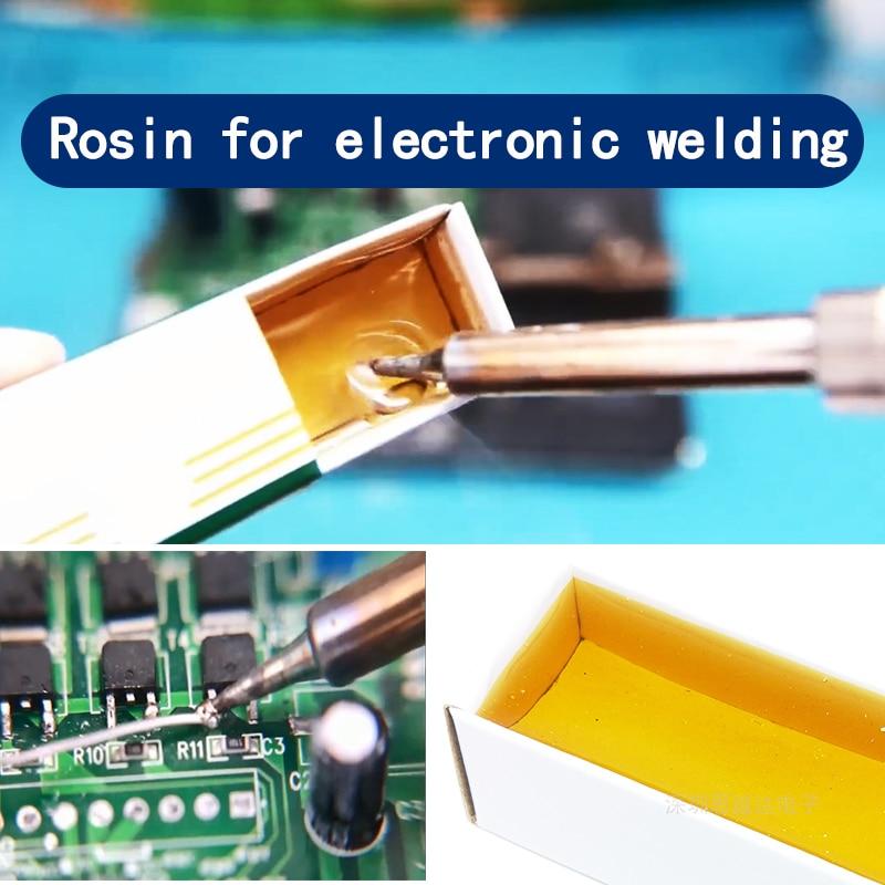 20G Rosin Soldering Flux Paste Soldering Tin Paste Carton Rosin Soldering Iron Soft Solder Welding Repair Fluxe Dropshipping 1pc