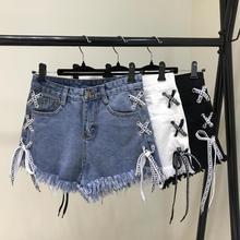 шорты для женщин новый большой Высокая Талия шорты лето женский широкий брюки проблемных джинсы шорты для женщин dropshipping
