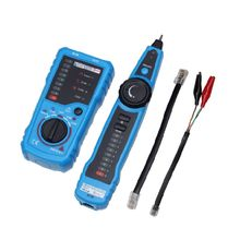 цена на Cat5 Cat6 Wire Tracker LAN Tester RJ11 Telephone Line RJ45 Ethernet Network Cable Detector for Collation Continuity Checking
