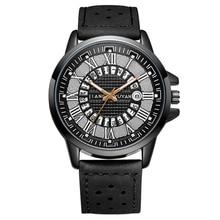 2020 New men's watch hot sale luxury brand fashion business waterproof multi-function leather quartz watch Relogio Masculino православная трапеза календарь на 2014 год