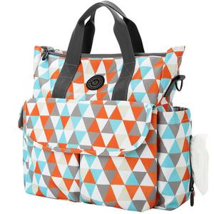 Image 5 - Lekebaby Fashion Diaper Bag Backpack Quilted Large Mum Maternity Nursing Bag Travel Backpack Stroller Baby Bag Nappy Baby Care