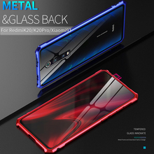 Luxury Clear Metal Case For Xiaomi Mi 9T Mi9T Pro Armor Shoc