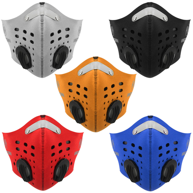 10Pcs Face Mask Half Air Pollution Filter Sport Cycling Bicycle Bike In Stock Fast shipping 5