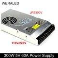G-energy 5V 60A 300W светодиодный дисплей Источник питания JPS300V 110/220V и N300V5.0-C Поддержка 200-240V работа для P10 светодиодный дисплей модуль