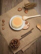 Sackleinen Tuch Baumwolle Leinen Tuch Retro Wirkung Fotografie Kulissen Requisiten für Lebensmittel Kosmetik Schießen Hintergrund Material Artikel
