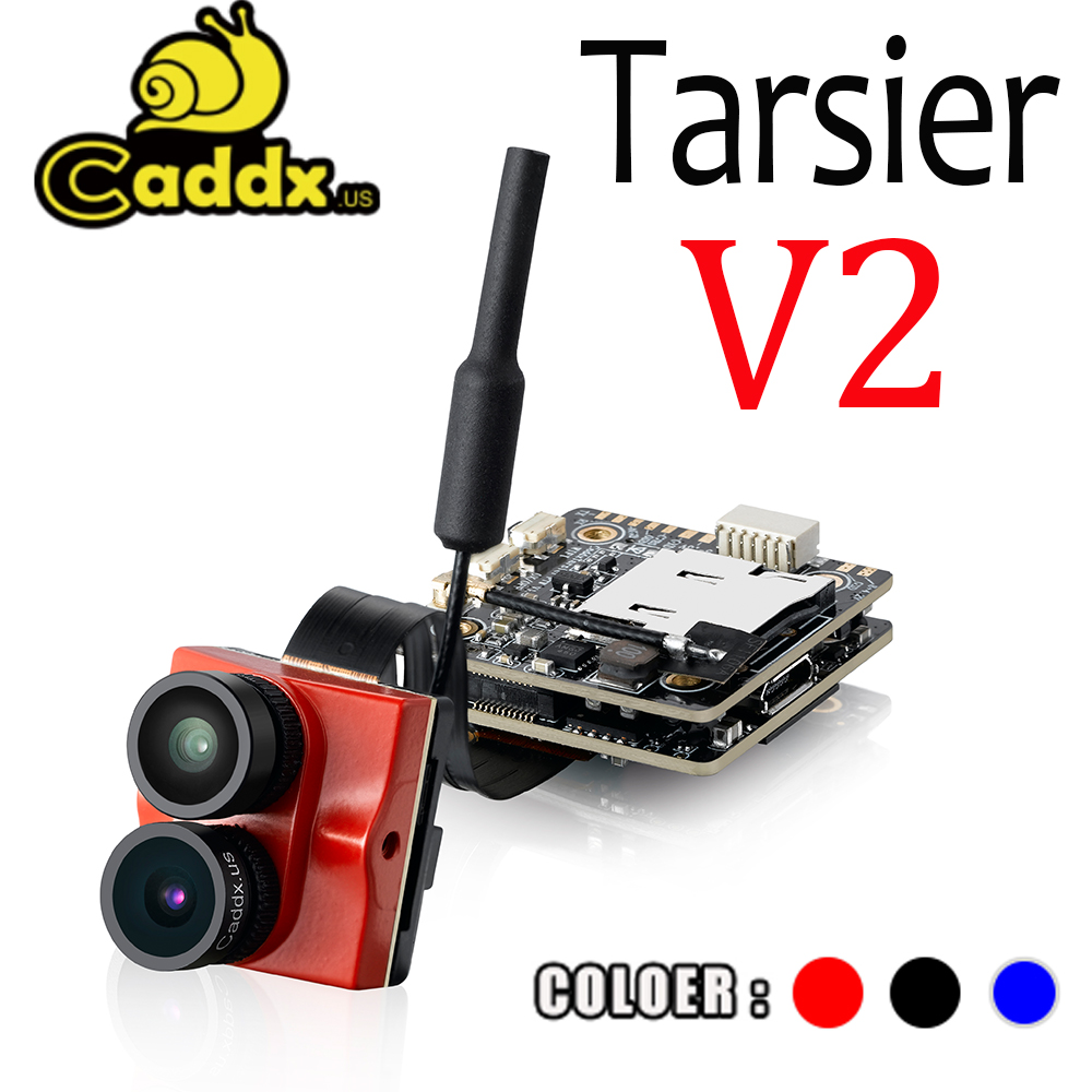 NEW Caddx Tarsier V2 4K 30fps 1200TVL WiFi Mini FPV Camera With ND Filter 128G Memory Card For RC Racing Drone Quadcopter